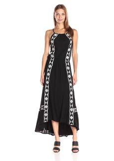 Ella moss Women's Usiku Midi Dress  L