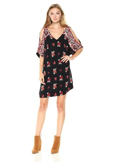 Ella Moss Women's Vintage Floral Dress  L