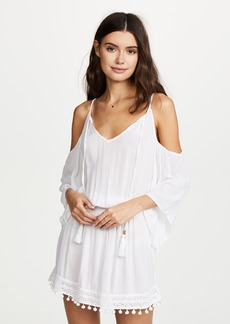 Ella Moss Woven Moments Cold Shoulder Tunic