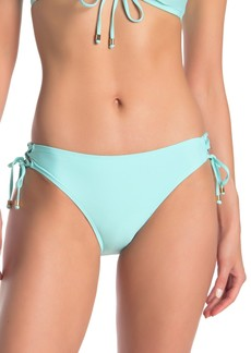 Ella Moss Essential Lace-Up Bikini Bottom