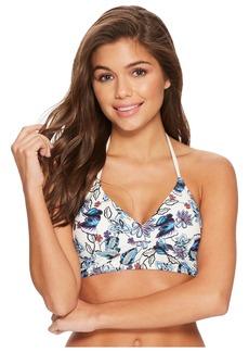 Ella Moss Folktale Floral Crop Bikini Top