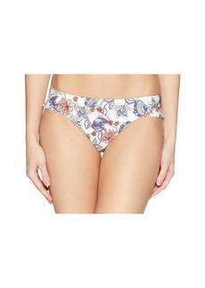 Ella Moss Folktale Floral Ruffle Leg Retro Bikini Bottom