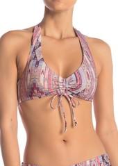 Ella Moss Glampiin Print Bralette Swim Top