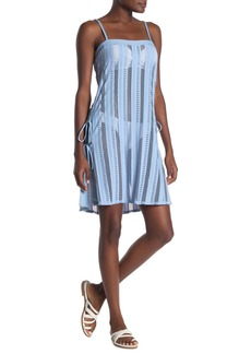 Ella Moss Heart A Flutter Crochet Cover-Up Dress
