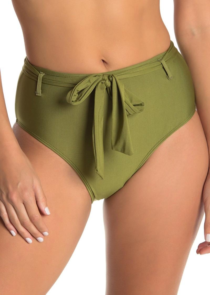 Ella Moss High Waisted Belted Bikini Bottom