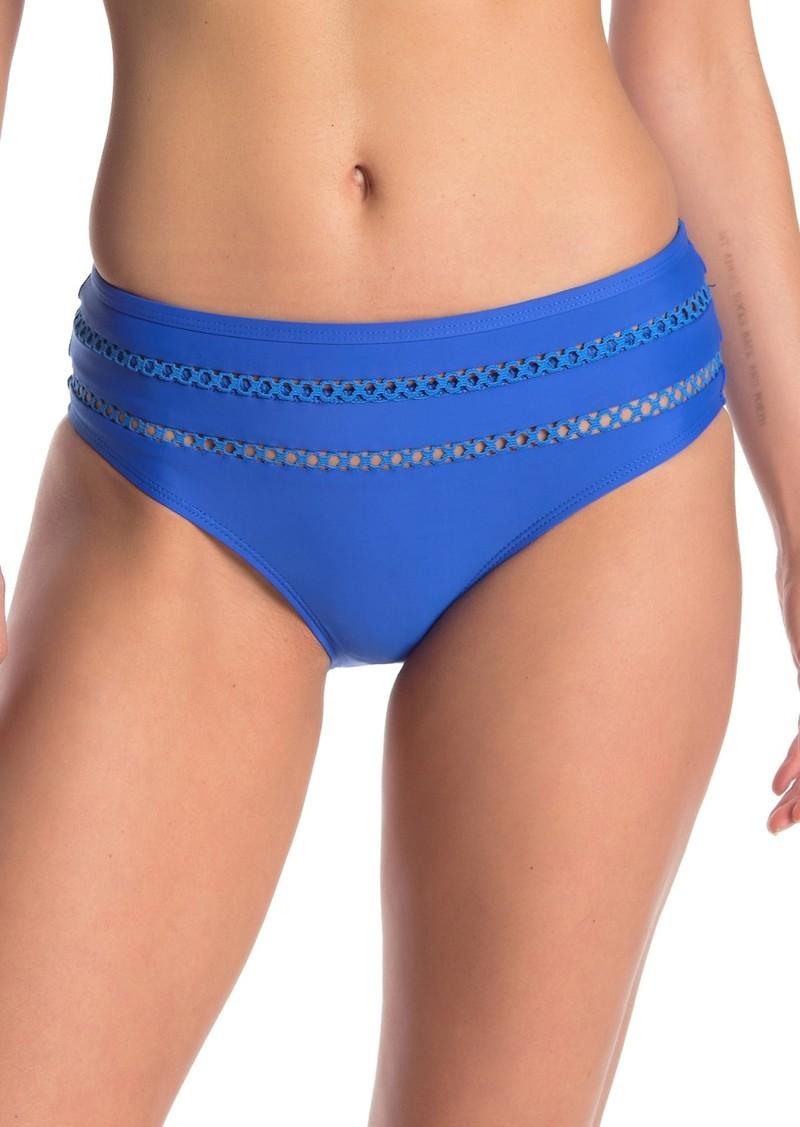 Ella Moss Lace Detail Bikini Bottoms