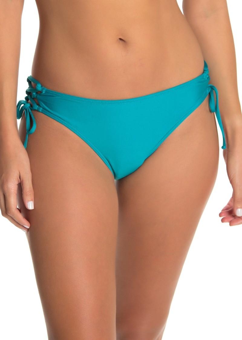Ella Moss Lace-Up Bikini Bottoms