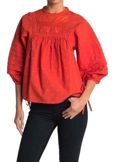 Ella Moss Lyra Pintucked Shirt
