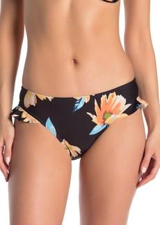 Ella Moss Moxie Floral Ruffle Bikini Bottom