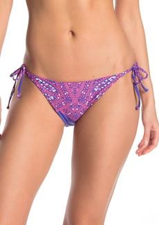Ella Moss Printed Side Tie Bikini Bottoms
