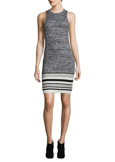 Ella Moss Rib-knit Bodycon Dress
