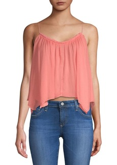 Ella Moss Sharkbite Hem Strappy Top
