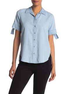 Ella Moss Shirby Short Sleeve Solid Shirt