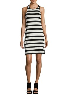 Ella Moss Striped Racerback Tank Dress