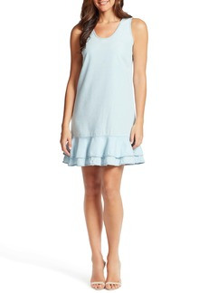 Ella Moss Tiered Ruffle Hem Sleeveless Dress