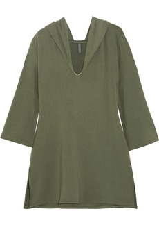 Elle Macpherson Intimates Chic hooded French terry nightdress