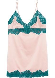 Elle Macpherson Intimates Elle Macpherson Body Sass lace-trimmed stretch-satin chemise