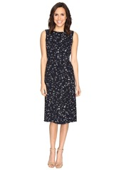 Ellen Tracy Belted Column Dress