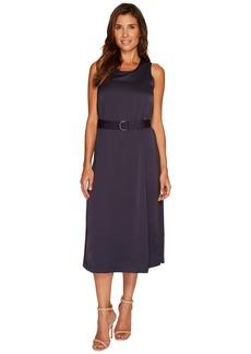 Ellen Tracy D-Ring Column Dress