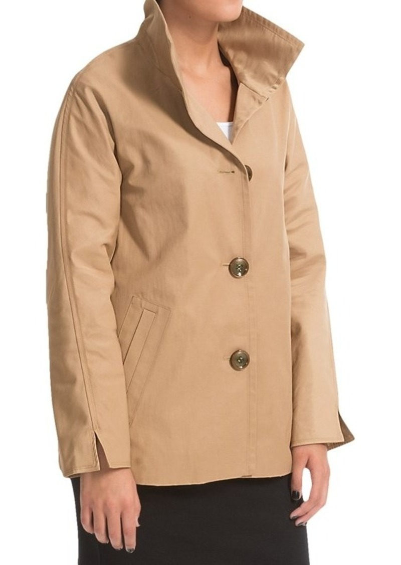 Ellen Tracy A-Line Jacket - Convertible Cuffs (For Women)
