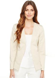 Ellen Tracy Angle Pocket Blazer