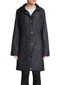 Ellen Tracy Camo Anorak Jacket