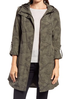 Ellen Tracy Camo Raincoat