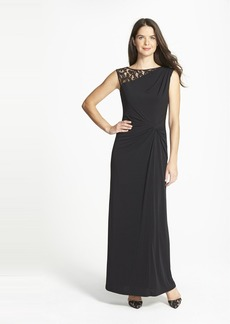 Ellen Tracy Column Gown