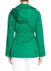 Ellen Tracy Cotton Blend Short Trench Coat (Regular & Petite)
