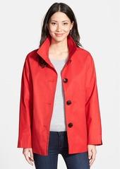 Ellen Tracy Cotton Blend Stand Collar A-Line Jacket (Regular & Petite)