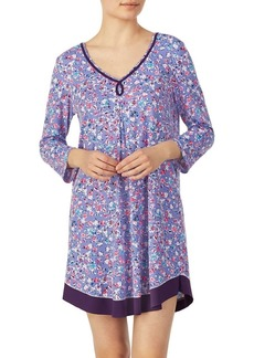 Ellen Tracy Ditsy Floral Chemise