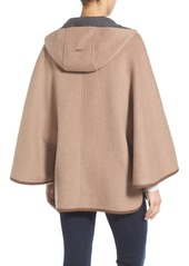 Ellen Tracy Double Face Cape Coat (Regular & Petite)