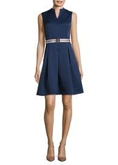 ELLEN TRACY Ellen Tracy Textured Dress