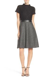 Ellen Tracy Fit & Flare Dress (Regular & Petite)
