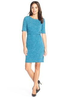 Ellen Tracy HeatheredKnit Sheath Dress (Regular & Petite)