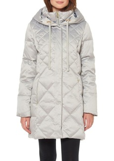 Ellen Tracy Heavy Weight Quilted Down Jacket