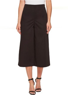 Ellen Tracy High Waist Side Zip Culotte