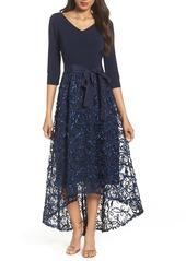 Ellen Tracy High/Low Gown