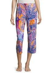 ELLEN TRACY Jersey Cropped Pajama Pants