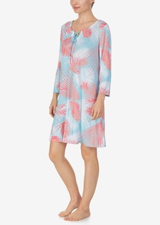 Ellen Tracy Knit Tunic Nightgown