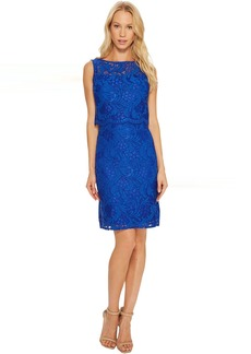 Ellen Tracy Lace Popover Dress
