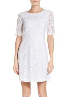 Ellen Tracy Lace Sheath Dress