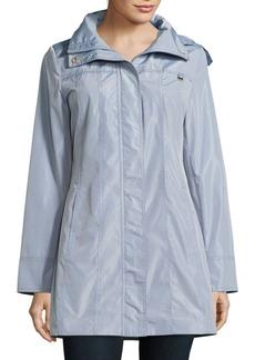 Ellen Tracy Lightweight Packable Rain Coat