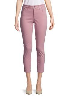 Ellen Tracy Newport High-Rise Cropped Skinny Pants