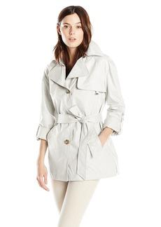 Ellen Tracy Outerwear Women's Chintz Trenchcoat