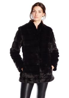 Ellen Tracy Outerwear Women's Faux Fur Lady Coat