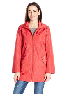 ELLEN TRACY Outerwear Women's Packable Rain Coat