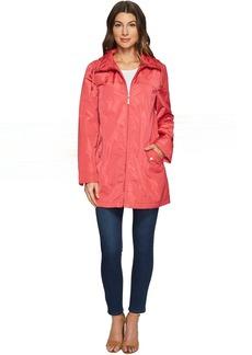 Ellen Tracy Packable Rain Topper