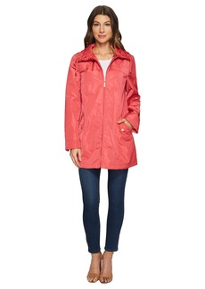 Ellen Tracy Packable Rain Topper