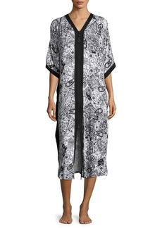 Ellen Tracy Paisley Midi Dress
